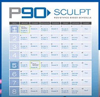 90-Day Workout Calendar