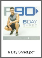6-Day Shred PDF